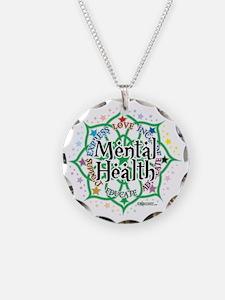 Mental-Health-Lotus Necklace