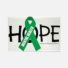 Mental-Health-Hope Rectangle Magnet