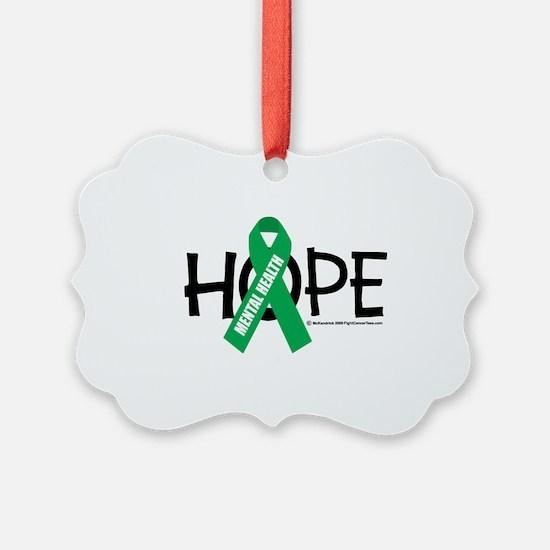 Mental-Health-Hope Ornament
