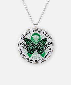 Mental-Health-Butterfly-Trib Necklace