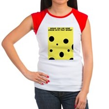 CheeseFR Women's Cap Sleeve T-Shirt