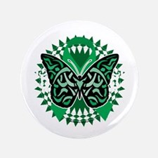 "Mental-Health-Butterfly-Tribal-2-blk 3.5"" Button"