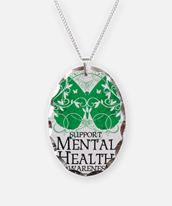 Mental-Health-Butterfly Necklace