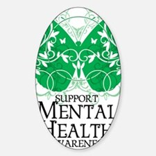 Mental-Health-Butterfly Decal