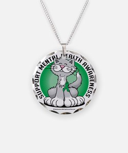 Paws-for-Mental-Health-Cat Necklace