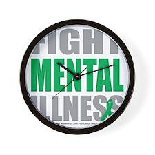 Fight-Mental-Illness Wall Clock