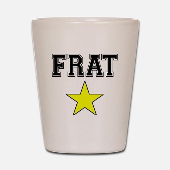 Frat Star Shot Glass