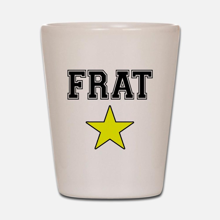Frat Star Shot Glass