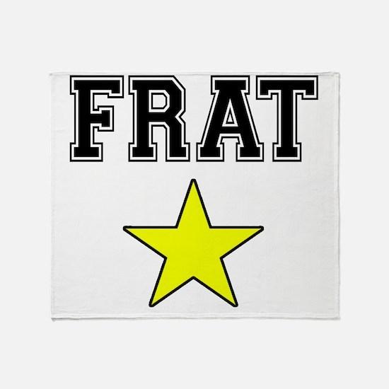 Frat Star Throw Blanket