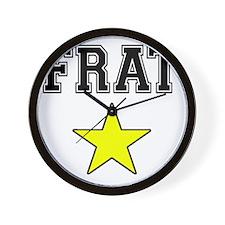 Frat Star Wall Clock