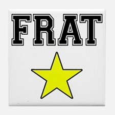 Frat Star Tile Coaster