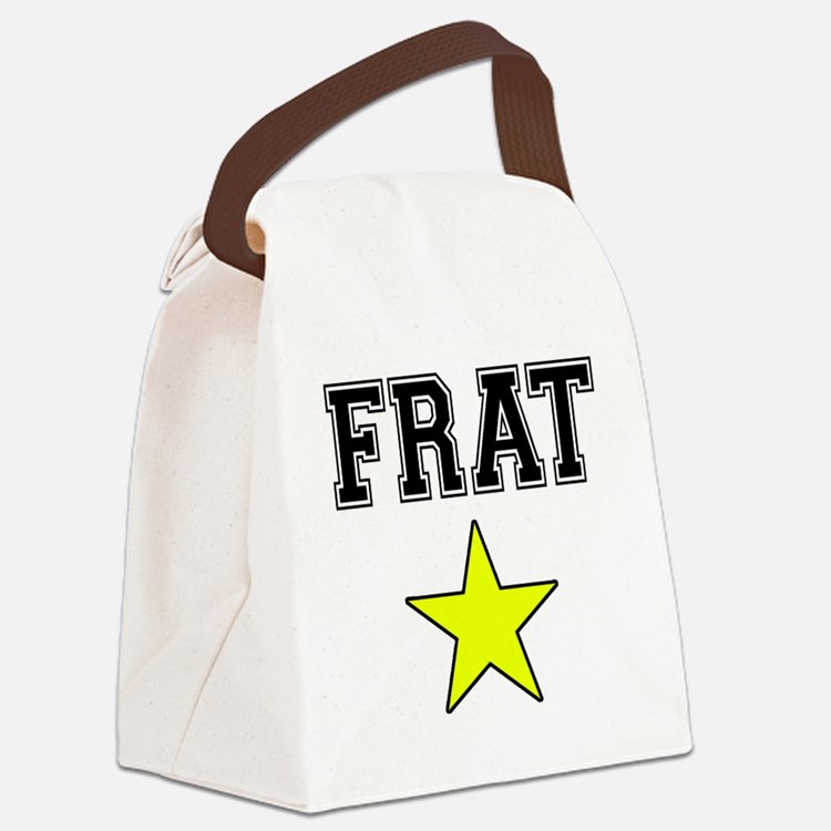 Frat Star Canvas Lunch Bag