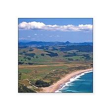 """Hot Water Beach, Coromandel Square Sticker 3"""" x 3"""""""