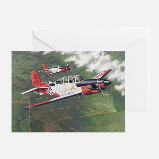 t-34_cafepress Greeting Card