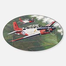 t-34_cafepress Sticker (Oval)