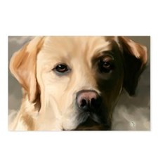 YellowLab3x5 Postcards (Package of 8)