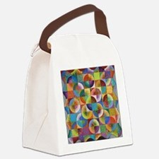 abcd Canvas Lunch Bag
