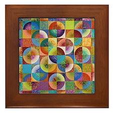 abcd Framed Tile
