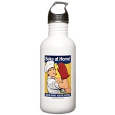 BettyBaker_BlackShirt Water Bottle