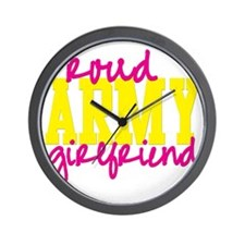 proudarmyGF Wall Clock