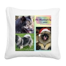 Cover #2 Square Canvas Pillow
