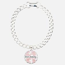 greyquotes Charm Bracelet, One Charm