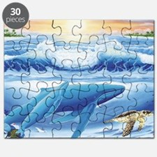 whale and turtle long  Puzzle