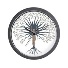 woman-tree-LTT Wall Clock