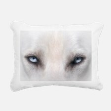 BlueEyes_calendar Rectangular Canvas Pillow