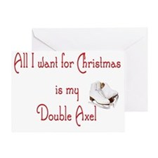 doubleaxel Greeting Card
