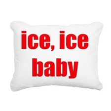 iceicebaby Rectangular Canvas Pillow