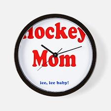 hockeymomblankie Wall Clock