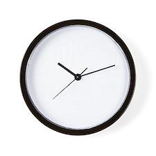 LOST U dk Wall Clock