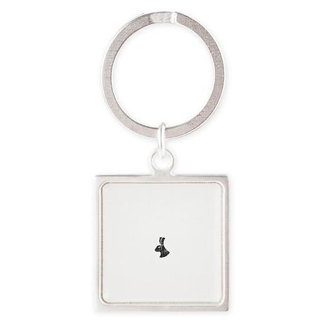 Dharma LG -dk Square Keychain