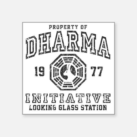 """Dharma LG Square Sticker 3"""" x 3"""""""
