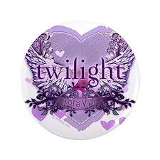 "twilight forever purple heart copy 3.5"" Button"