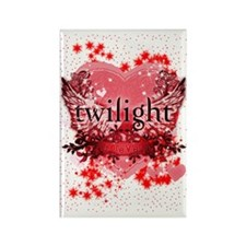 twilight red heart christmas stoc Rectangle Magnet
