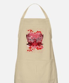 twilight red heart christmas stocking copy Apron