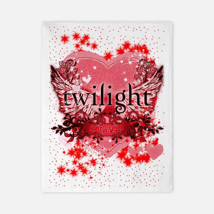 twilight red heart christmas stocking c Twin Duvet