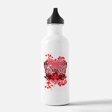 twilight red heart chr Water Bottle