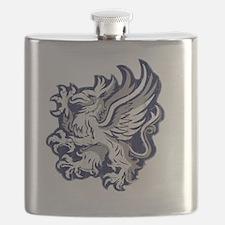 Grey Warden Griffin Flask