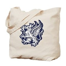 Grey Warden Griffin Tote Bag