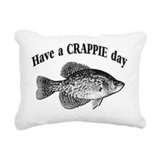 have a crappie day 1 Rectangular Canvas Pillow