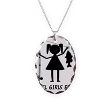 reel girls fish Necklace