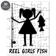 reel girls fish Puzzle