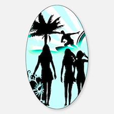 Surfer Girls Decal