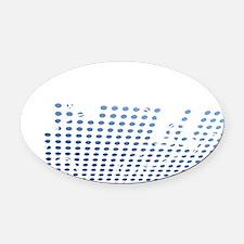 djeq1 Oval Car Magnet