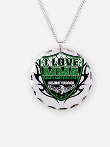 SHIELD GREEN-BLACK Necklace
