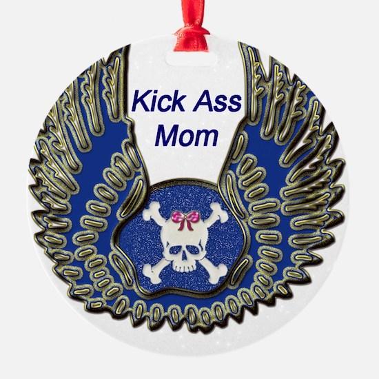 Kick Ass Mom copy Ornament