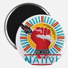 We Live Native Collection - Black Magnet